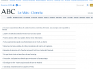 ABC.es - Ciencia: lo más visto.
